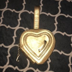 Juicy couture heart clutch